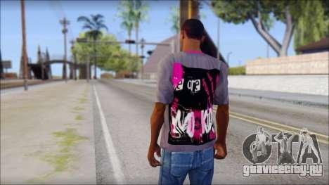 Emo T-Shirt для GTA San Andreas второй скриншот
