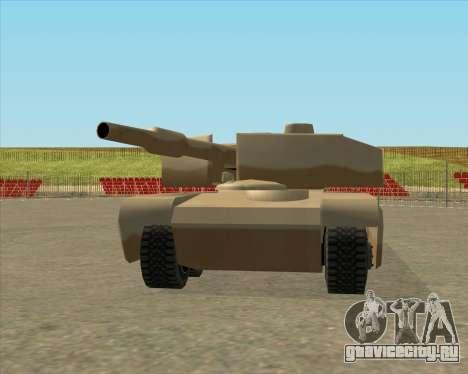 Dozuda.s Primary Tank (Rhino Export tp.) для GTA San Andreas