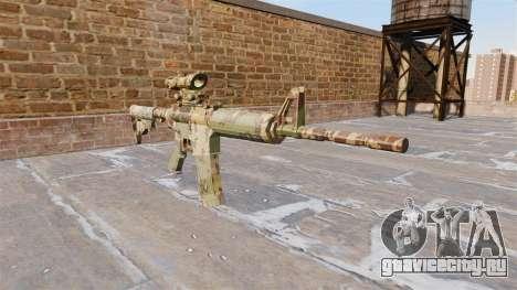 Автоматический карабин М4А1 Guerrilla Camo для GTA 4