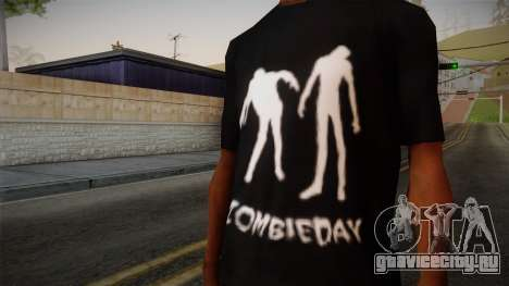 Zombie Polo Shirt для GTA San Andreas третий скриншот