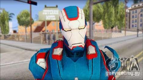 Iron Patriot для GTA San Andreas третий скриншот