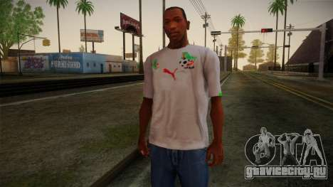 Algerian Football T-Shirt для GTA San Andreas