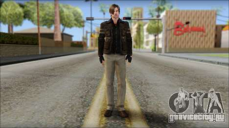 Leon Kennedy from Resident Evil 6 v4 для GTA San Andreas