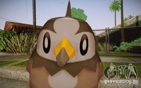 Starly from Pokemon для GTA San Andreas третий скриншот