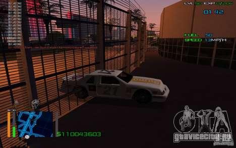 Езда сквозь стены для GTA San Andreas второй скриншот