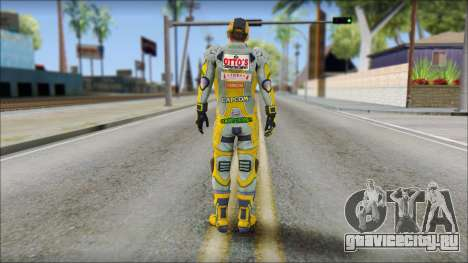 Piers Amarillo Gorra для GTA San Andreas второй скриншот