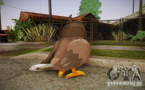 Starly from Pokemon для GTA San Andreas второй скриншот