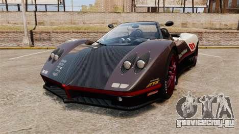 Pagani Zonda C12S Roadster 2001 v1.1 PJ4 для GTA 4