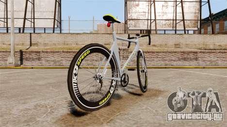 GTA V Whippet Race Bike для GTA 4 вид сзади слева