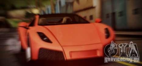 Spano Black для GTA San Andreas