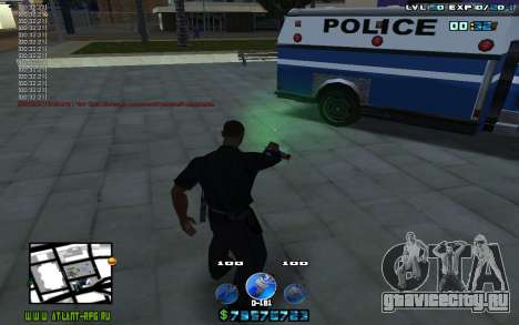 C-HUD by Mr.Riko для GTA San Andreas третий скриншот