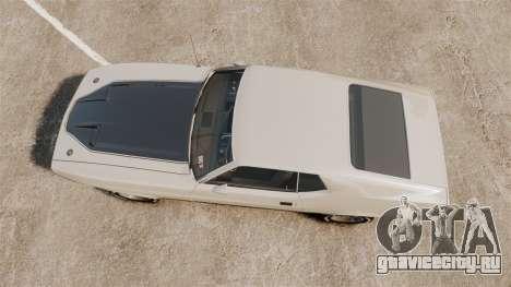 Ford Mustang Mach 1 1973 v3.0 GCUCPSpec Edit для GTA 4 вид справа
