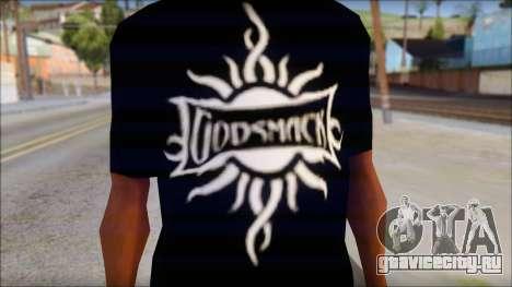 Godsmack T-Shirt для GTA San Andreas второй скриншот