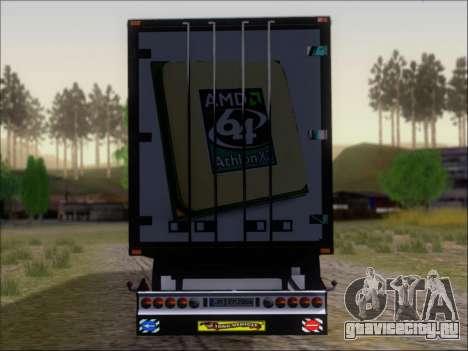 Прицеп AMD 64 Athlon X2 для GTA San Andreas вид снизу
