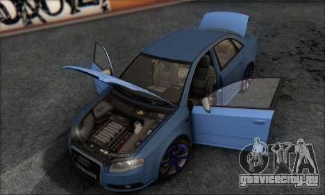 Audi S4 4.0 Quattro 2006 для GTA San Andreas вид сверху
