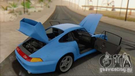 Porsche 911 GT2 (993) 1995 V1.0 SA Plate для GTA San Andreas вид сзади