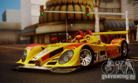 Porsche RS Spyder Evo 2008 для GTA San Andreas вид сзади