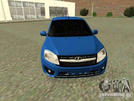Lada Granta Liftback для GTA San Andreas вид сверху