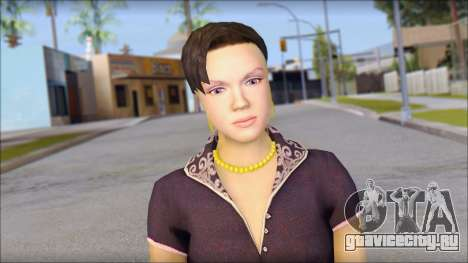 Young Woman для GTA San Andreas третий скриншот