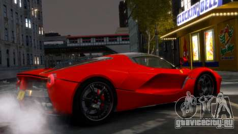 Ferrari LaFerrari WheelsandMore Edition для GTA 4 вид слева