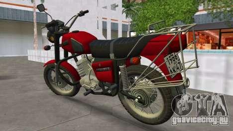 ИЖ Планета 5 для GTA Vice City вид слева