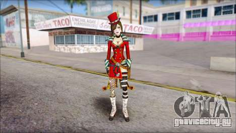 Moxxi from Borderlands для GTA San Andreas