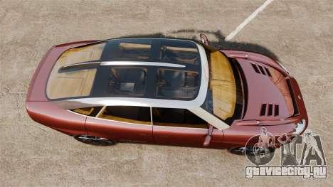 Spyker D8 для GTA 4 вид справа