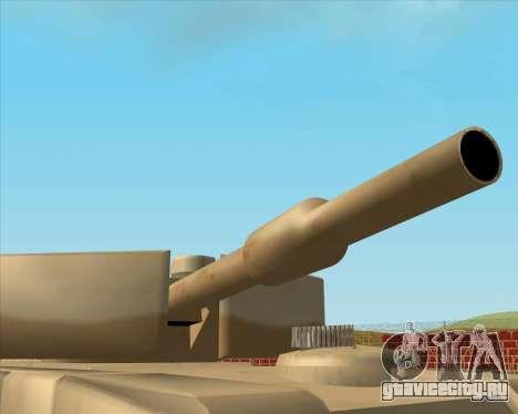Dozuda.s Primary Tank (Rhino Export tp.) для GTA San Andreas вид сзади слева