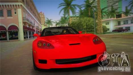 Chevrolet Corvette 2010 для GTA Vice City