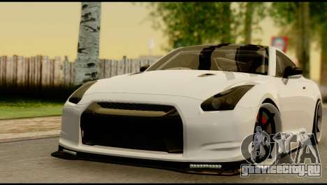 Nissan GT-R V2.0 для GTA San Andreas вид сбоку