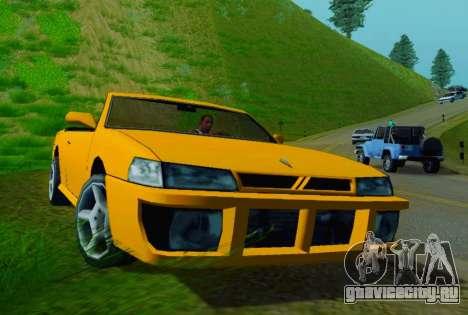 Sultan Сabriolet v2.0 для GTA San Andreas вид слева
