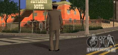 Navy Officer для GTA San Andreas второй скриншот