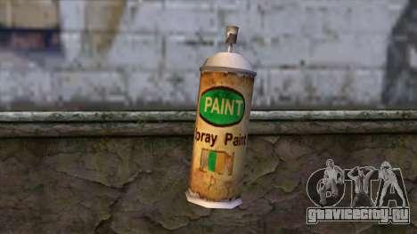 Spraycans from Bully Scholarship Edition для GTA San Andreas второй скриншот