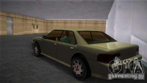 Sultan from GTA San Andreas для GTA Vice City вид слева