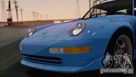 Porsche 911 GT2 (993) 1995 V1.0 SA Plate для GTA San Andreas вид сбоку