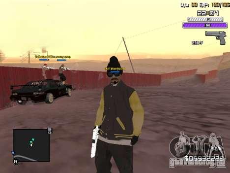 C-HUD by Weezy для GTA San Andreas