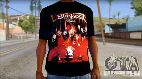 SlipKnoT T-Shirt mod для GTA San Andreas третий скриншот