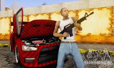 Abstract M16 для GTA San Andreas четвёртый скриншот