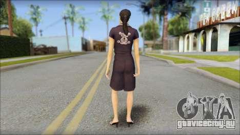 Young Woman для GTA San Andreas второй скриншот