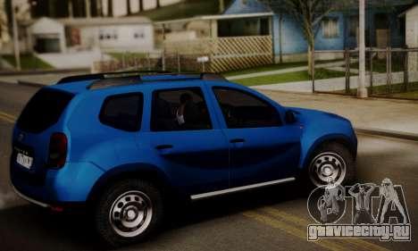 Lada Duster для GTA San Andreas вид сзади слева