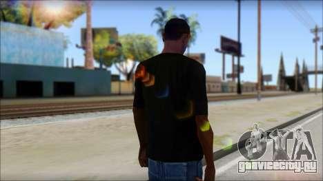 SkullTie T-Shirt для GTA San Andreas второй скриншот