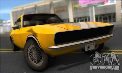 Jensen Intercepter 1971 Fast And Furious 6 для GTA San Andreas вид слева