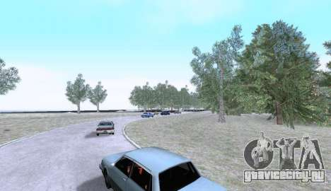 Russian Map 0.5 для GTA San Andreas четвёртый скриншот