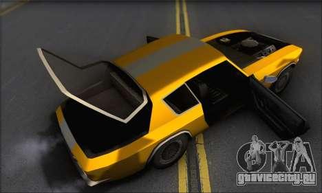 Jensen Intercepter 1971 Fast And Furious 6 для GTA San Andreas вид изнутри