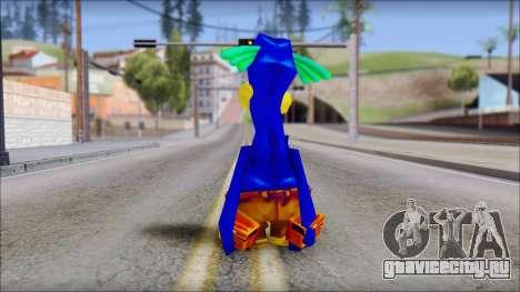 Rico the Penguin from Fur Fighters Playable для GTA San Andreas третий скриншот