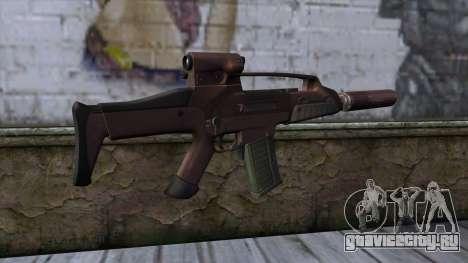 XM8 Compact Red для GTA San Andreas второй скриншот