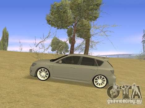 Mazda 3 v2 для GTA San Andreas вид слева