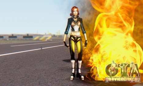 Jessica для GTA San Andreas третий скриншот