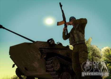 САР. Гранатометчик КСОР для GTA San Andreas третий скриншот