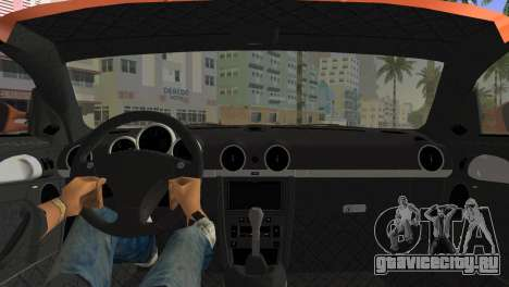 RUF CTR3 для GTA Vice City вид сзади слева
